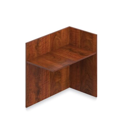 41 H x 42 W Left Desk Return Finish: American Dark Cherry