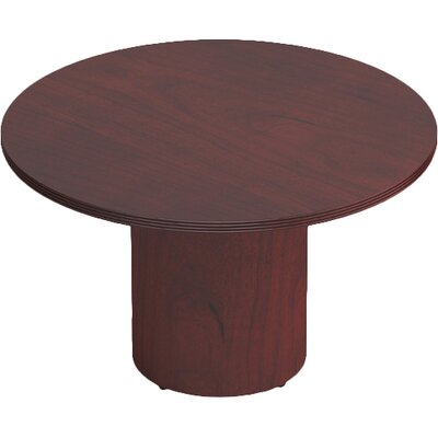 Ventnor Circular Conference Table Finish: Cordovan, Size: 4 L Diameter