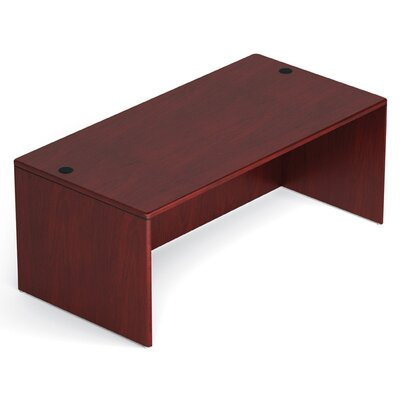 Margate Rectangular Desk Shell Product Photo 2438