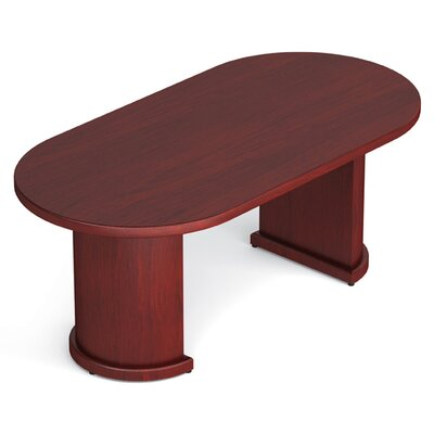 Margate Oval Conference Table Size: 6 L