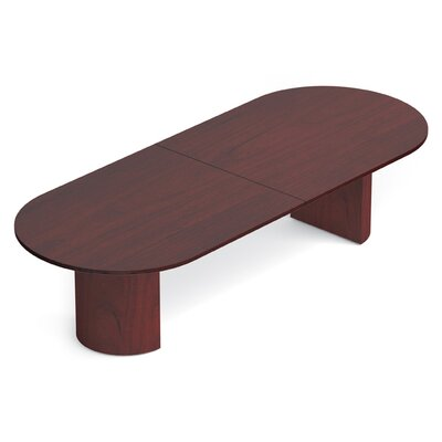 Ventnor Oval Conference Table Size: 10 L, Finish: Cordovan