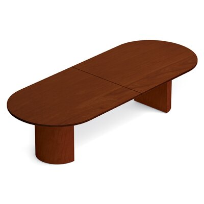 Ventnor Oval Conference Table Size: 10 L, Finish: Toffee