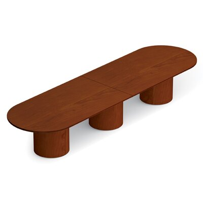 Ventnor 14 Oval Conference Table Finish: Toffee