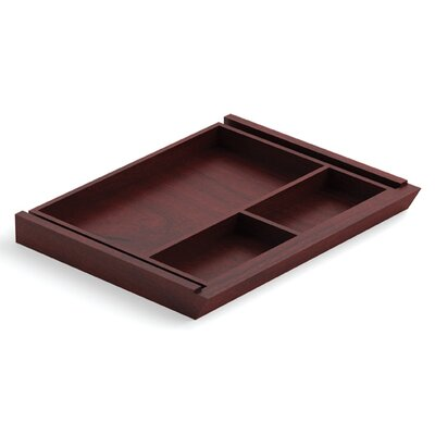 Ventnor 20 W x 15 D Desk Drawer Finish: Cordovan