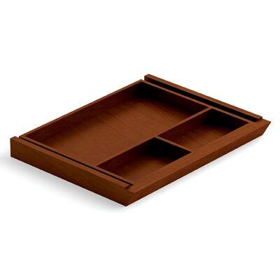 Ventnor 20 W x 15 D Desk Drawer Finish: Toffee