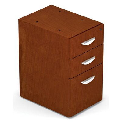 Ventnor 28 H x 15.5 W Desk File Pedestal Finish: Toffee