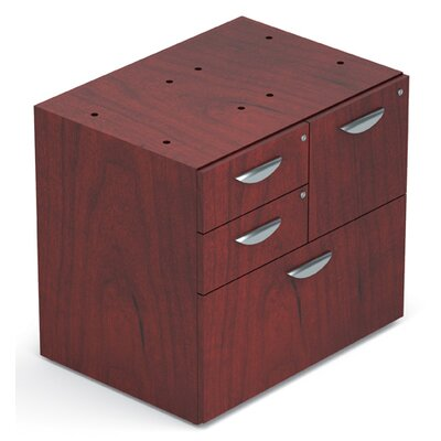 Ventnor 28 H x 30 W Desk File Pedestal Finish: Cordovan
