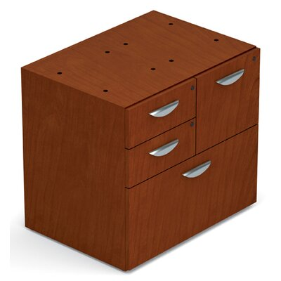 Ventnor 28 H x 30 W Desk File Pedestal Finish: Toffee