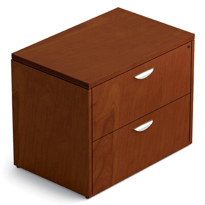 Ventnor 29 H x 36 W Desk File Pedestal Finish: Toffee