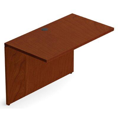 Ventnor 29 H x 42 W Desk Bridge Finish: Toffee