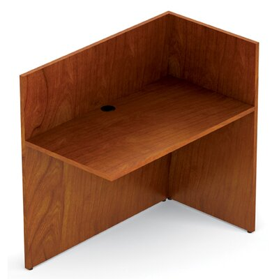 Ventnor 29 H x 42 W Right Desk Return Finish: Toffee