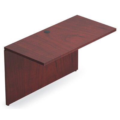 Ventnor 29 H x 48 W Desk Bridge Finish: Cordovan