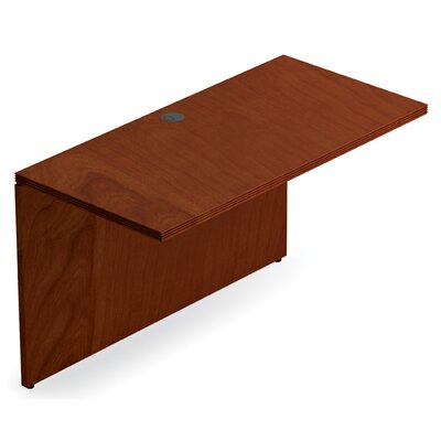 Ventnor 29 H x 48 W Desk Bridge Finish: Toffee