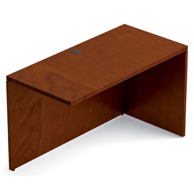 Ventnor 29 H x 48 W Right Desk Return Finish: Toffee