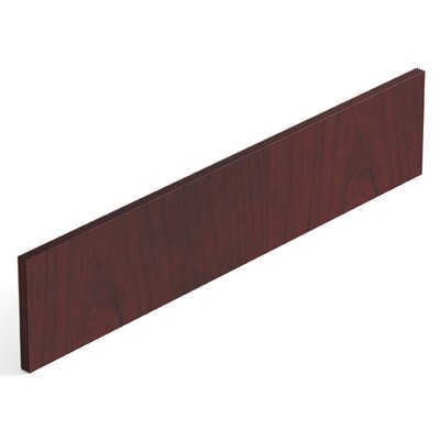 Ventnor 29 H x 60 W Desk Privacy Panel Finish: Cordovan