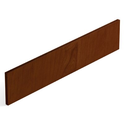 Ventnor 29 H x 60 W Desk Privacy Panel Finish: Toffee