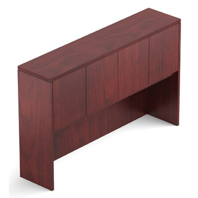 Ventnor 42 H x 66 W Desk Hutch Finish: Cordovan