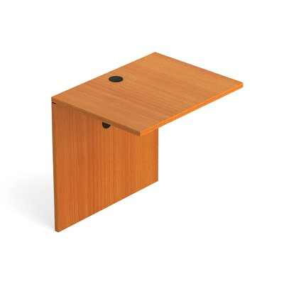 29.5 H Desk Bridge Size: 30 W, Finish: American Cherry