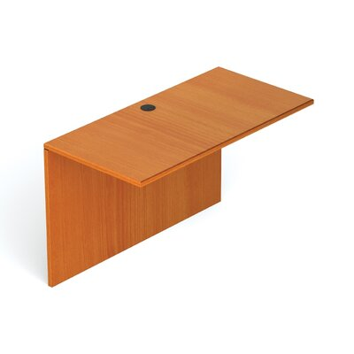 29.5 H Desk Bridge Size: 48 W, Finish: American Cherry