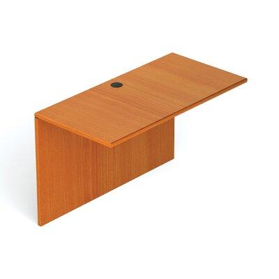 29.5 H Desk Bridge Size: 48 W, Finish: American Cherry
