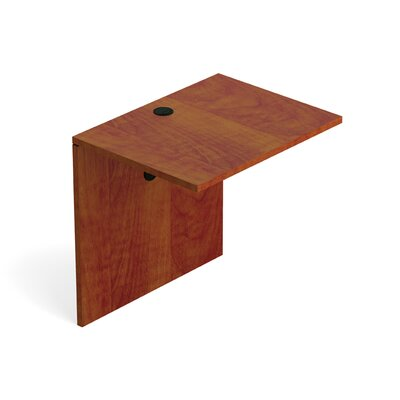 29.5 H Desk Bridge Size: 30 W, Finish: American Dark Cherry