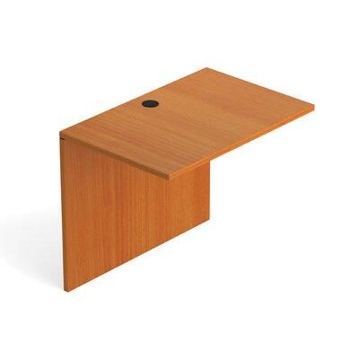 29.5 H Desk Bridge Size: 36 W, Finish: American Cherry