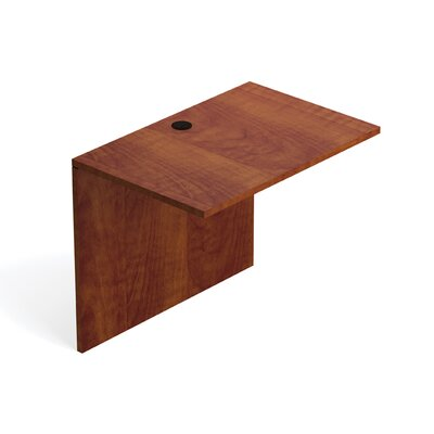 29.5 H Desk Bridge Size: 36 W, Finish: American Dark Cherry
