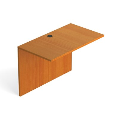 29.5 H Desk Bridge Size: 42 W, Finish: American Cherry