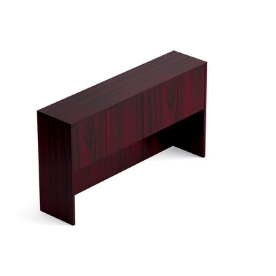 36 H Desk Hutch Size: 66 W, Finish: American Mahogany