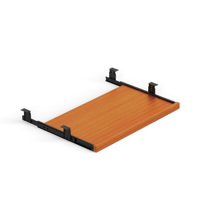 Superior 0.6875 H x 22.625 W Desk Keyboard Tray Finish: American Cherry