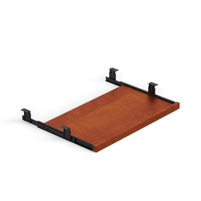 1 H x 23.5 W Desk Keyboard Tray Finish: American Dark Cherry