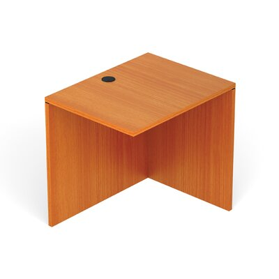 Reversible 29.5 H Desk Connector Return Width: 30 W, Finish: American Cherry