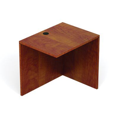 Reversible 29.5 H Desk Connector Return Width: 30 W, Finish: American Dark Cherry
