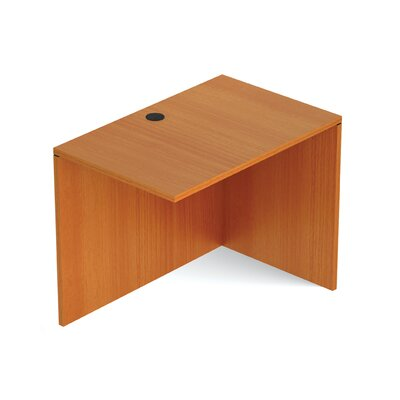 Reversible 29.5 H Desk Connector Return Width: 36 W, Finish: American Cherry