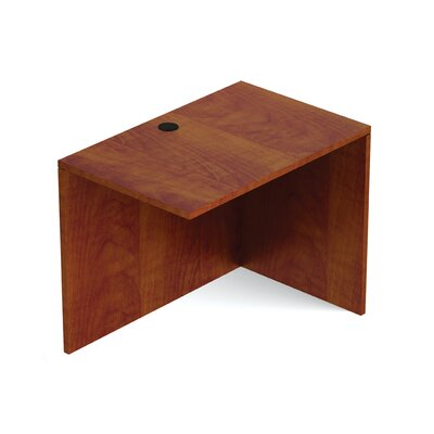 Reversible 29.5 H Desk Connector Return Width: 36 W, Finish: American Dark Cherry