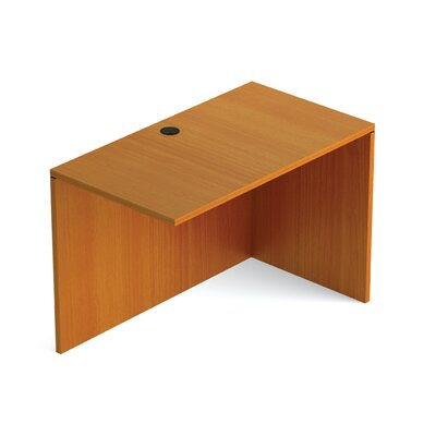 Reversible 29.5 H Desk Connector Finish: American Cherry, Return Width: 42 W