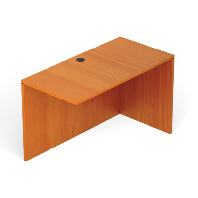 Reversible 29.5 H Desk Connector Return Width: 48 W, Finish: American Cherry