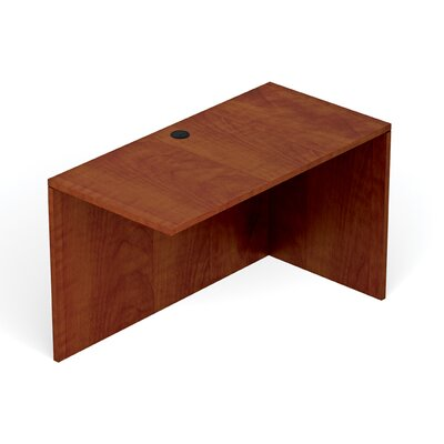 Reversible 29.5 H Desk Connector Return Width: 48 W, Finish: American Dark Cherry