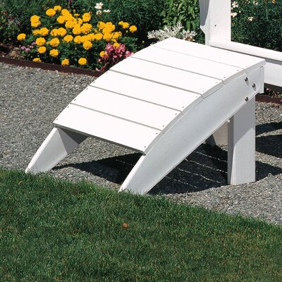 Adirondack Ottoman Finish: Gray