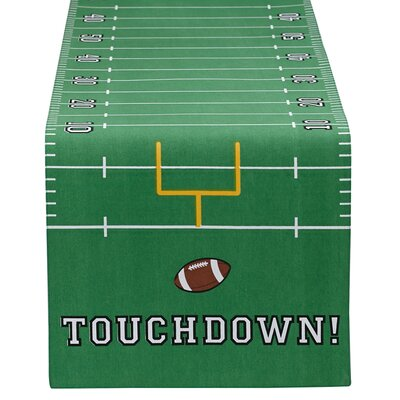 Touchdown Printed Table Runner 27755