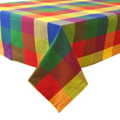 Alvarado Indian Summer Checkered Tablecloth