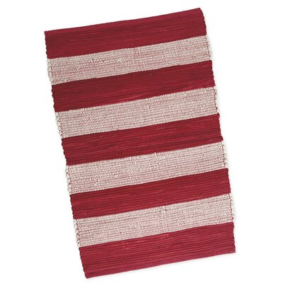 Chindi Hand-Woven Red Area Rug