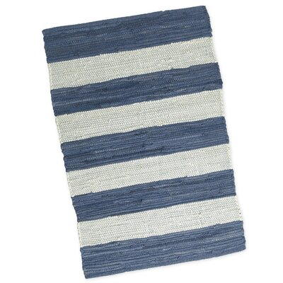 Chindi Hand-Woven Denim Area Rug