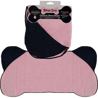 Microfiber Pet Towel in Pink