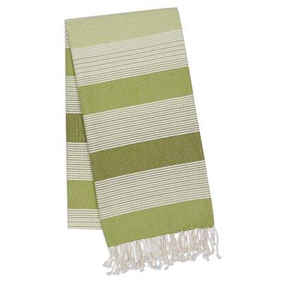 Stripe Towel Set Color: Green