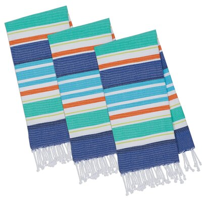 Beachy Keen Stripes Fouta Hand Towel