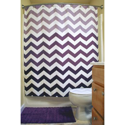 Zion Chevron Shower Curtain
