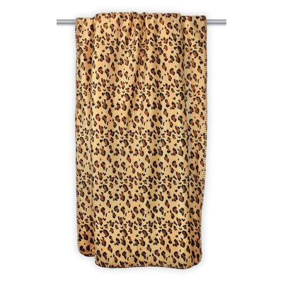 Allouez Leopard Sherpa Throw