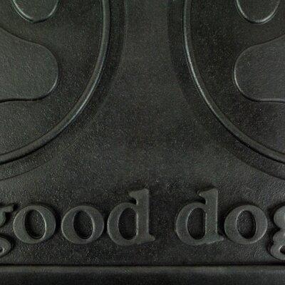 Good Dog Rubber Pet Mat