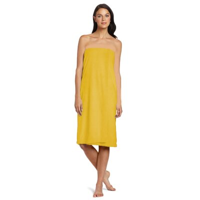 Shower Wrap Color: Yellow
